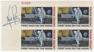 Neil Armstrong forged stamps